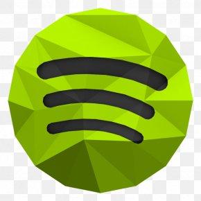 Low Poly - Low Poly Spotify PNG