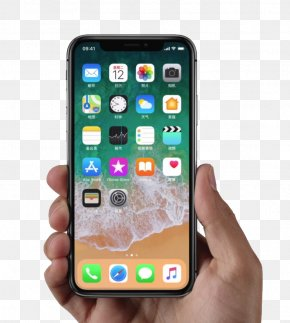 IPhone,X Handheld Diagram - IPhone 8 Smartphone Apple Telephone IOS PNG