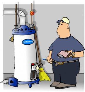 Hot Water Cliparts - Water Heating Natural Gas Cartoon Plumbing Clip Art PNG