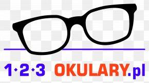 Glasses - Sunglasses Logo Goggles 1, 2, 3 Okulary Za 100, 200, 300 PNG