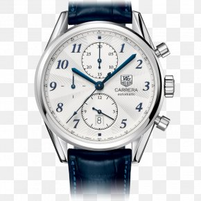 Watch - TAG Heuer Chronograph Watch Rolex White PNG