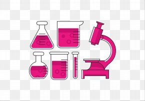 Microscope - Test Tube Laboratory Microscope Euclidean Vector PNG