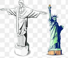 Goddess - Statue Of Liberty PNG