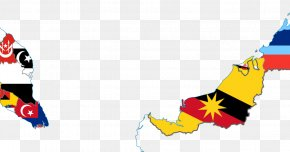 Flag Of Malaysia - Peninsular Malaysia Brunei Flag Of Malaysia States And Federal Territories Of Malaysia Vector Map PNG