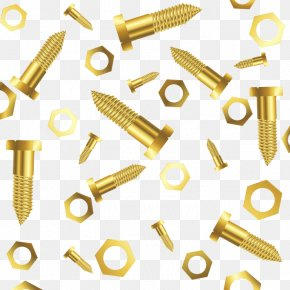 Screw - Self-tapping Screw Nut Bolt Nail PNG