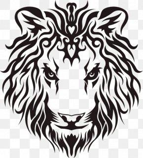 Lion - Lion Tattoo Idea PNG