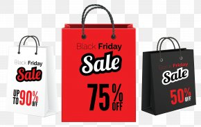 Black Friday Sale Bags Clipart Image - Tote Bag Black Friday Clip Art PNG