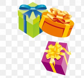 Gift Packs - Gift Decorative Box Clip Art PNG