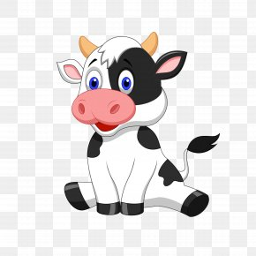 Dairy Cow - Cattle Cartoon Stock Photography PNG