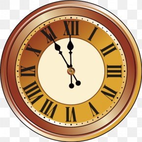 Clock - New Years Eve New Years Day Clip Art PNG