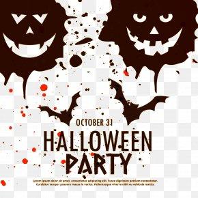 Halloween Bat - Halloween Euclidean Vector Illustration PNG