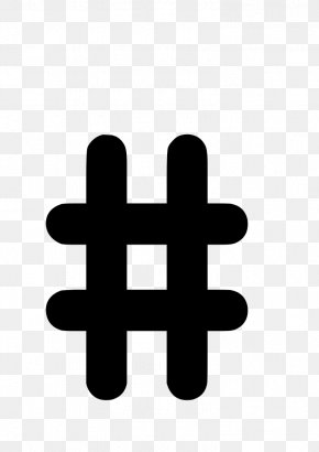 Number Icon - Number Sign Hashtag Clip Art PNG