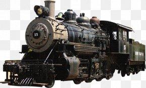 Train - Train Rail Transport Poster PNG
