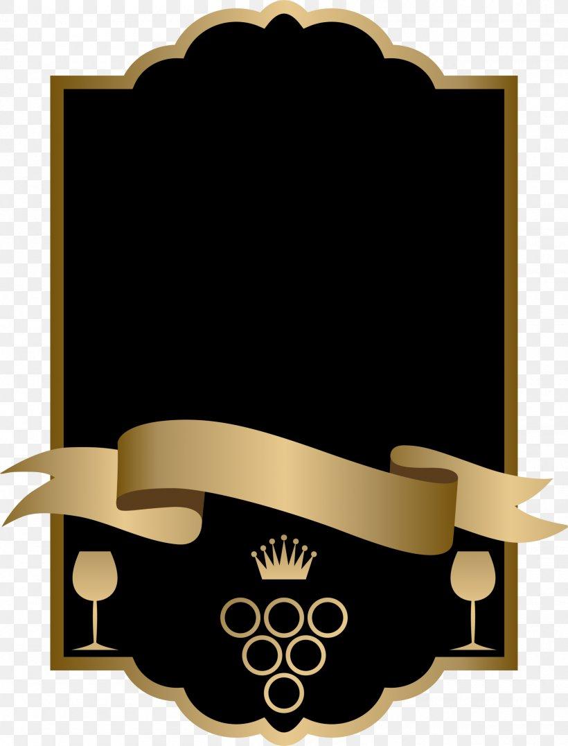 Black Ribbon Euclidean Vector, PNG, 2000x2626px, Wine, Black, Black Ribbon, Brand, Label Download Free
