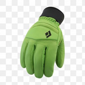 Skiing - Glove Amazon.com Black Diamond Equipment Skiing Lime PNG