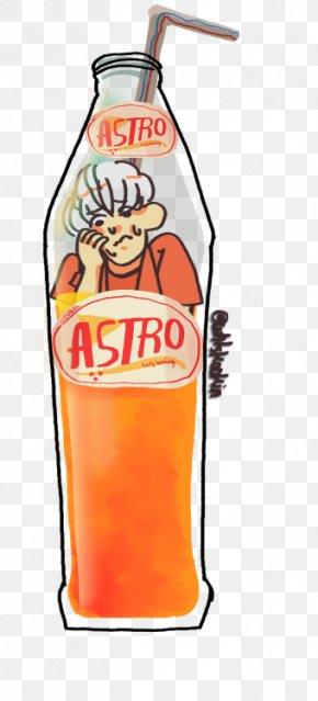 Summer Vibes - Orange Soft Drink Orange Drink Bottle PNG