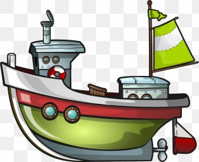 Boating Cliparts - Boat Fishing Vessel Clip Art PNG