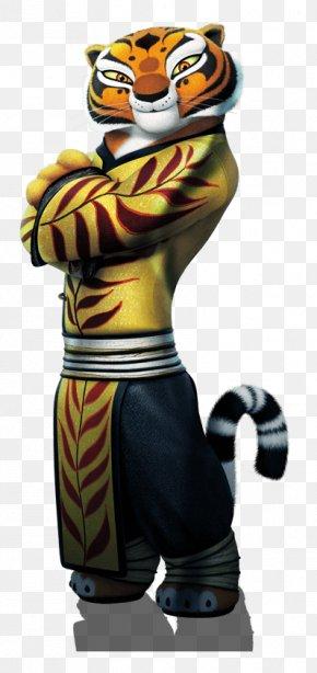 Cartoon Tiger - Tigress Po Master Shifu Giant Panda Viper PNG