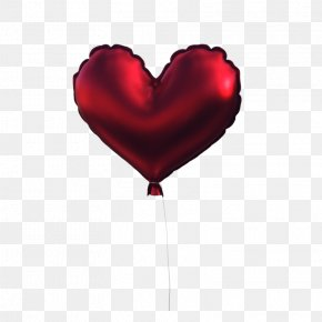 Roses I Love You Balloon - Love Heart PNG