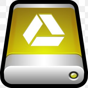 Device Google Drive - Computer Icon Brand Yellow Sign PNG