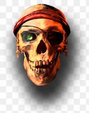 Pirate Skull - Skull APUS Group Jolly Roger PNG