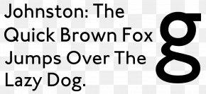 Lucida Sans Unicode Typeface Sans-serif - Typeface Sans-serif Johnston Font PNG