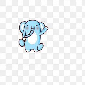 Cartoon Baby Elephant - Cartoon Elephant Clip Art PNG