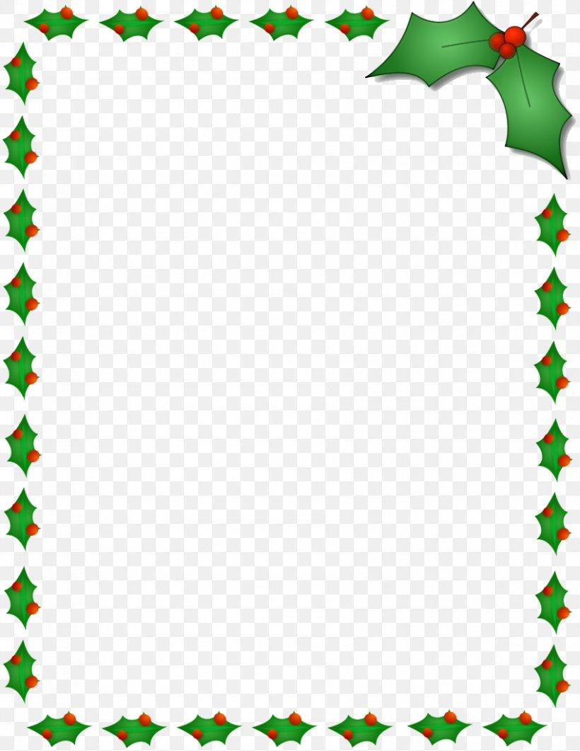 Christmas Santa Claus Microsoft Word Template Clip Art PNG