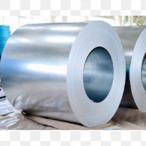 Zinc Aluminium Hot-dip Galvanization Strip Steel Prepainted Metal PNG
