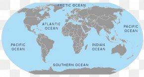 World Ocean - World Map World Map Bangladesh–Mexico Relations PNG
