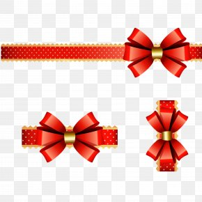 New Year Spring Festival Vector Christmas Bow Decoration - Christmas New Years Day Computer File PNG
