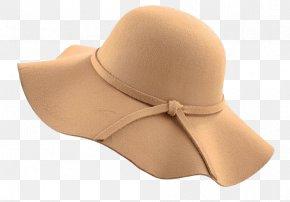 Korean Wave Edge Big Dome Hat - Top Hat Beige Clothing Bowler Hat PNG