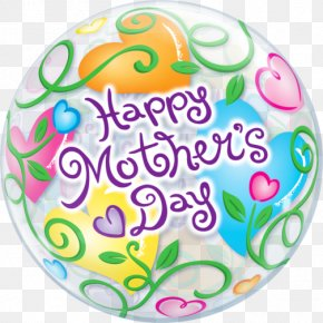 Mother's Day - Gas Balloon Mother's Day Gift PNG