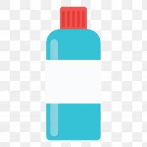 Blue Water Bottle - Water Bottle Download PNG