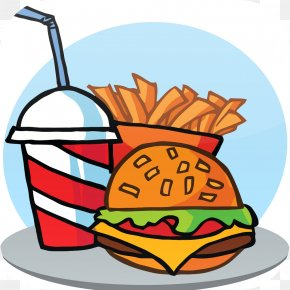 Burger And Sandwich - Fast Food Restaurant Junk Food French Fries Hamburger PNG