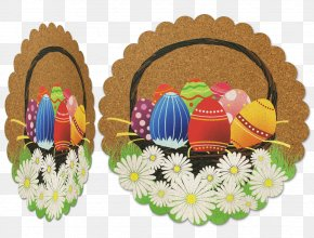 Easter - Easter Egg Basket Greeting & Note Cards PNG