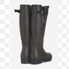 Boot - Riding Boot Wellington Boot Shoe Dark Brown PNG