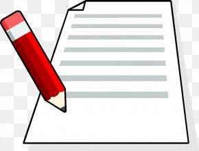 Pencil - Paper Clip Art Pencil Drawing Image PNG