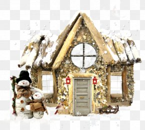 Gingerbread House Albom Diary Clip Art PNG
