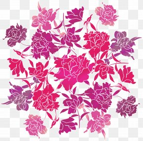 FLOWER PATTERN - Flower Graphic Design Drawing PNG