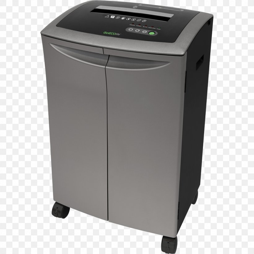 Paper Shredder Industrial Shredder Office Supplies Sheet Metal, PNG, 1024x1024px, Paper, Box, Crusher, Electronics, Fellowes Brands Download Free