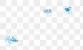 Ice Particles - Light Ice Cube Blue Ice PNG
