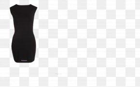 Dresses - Neck Black M PNG