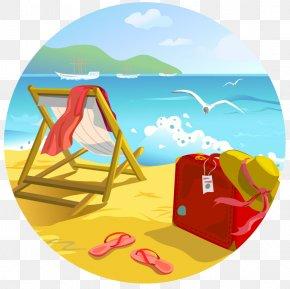 Beach Background - Beach Summer Clip Art PNG