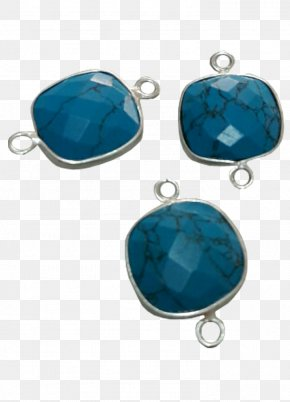 Silver - Turquoise Earring Sterling Silver Toe Ring PNG