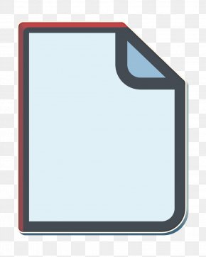 Mirror Rectangle - Document Icon General Icon Letter Icon PNG