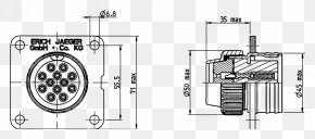Technical Drawing - Technical Drawing Wiring Diagram Electrical Connector PNG