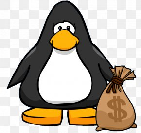Money Bag Image - Club Penguin Money Bag Bank Clip Art PNG