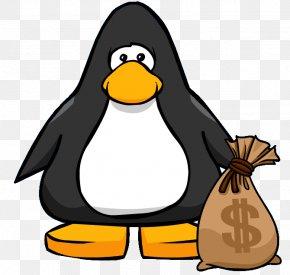 Money Bag Image - Club Penguin Money Bag Bank Clip Art PNG
