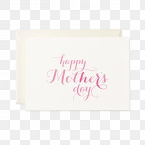Unforgetable Mother's Day Card - Greeting & Note Cards Text Watercolor Painting Rose Mother PNG
